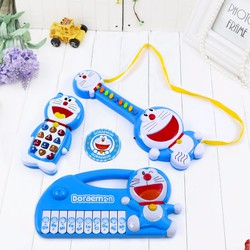 Bộ đàn và điện thoại phát nhạc vui nhộn Doraemon