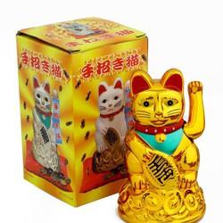 Mèo Thần Tài May Mắn
