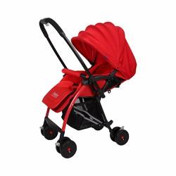Babybum - Xe đẩy 2 chiều siêu nhẹ Harrods - Đỏ