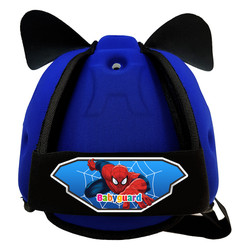Mũ Bảo Vệ Đầu Cho Bé BabyGuard Ngọc Bích logo Spider Man