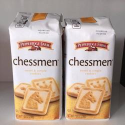 Bánh Chessmen Pepperidge Farm vị bơ phô mai 206g