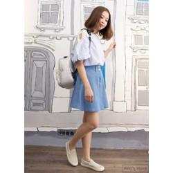 Váy jean xòe hàng nhập, design by Korea