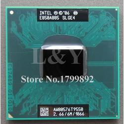 CPU core 2 duo T9550 2.66ghz 6M cache bus 1067 cho laptopp