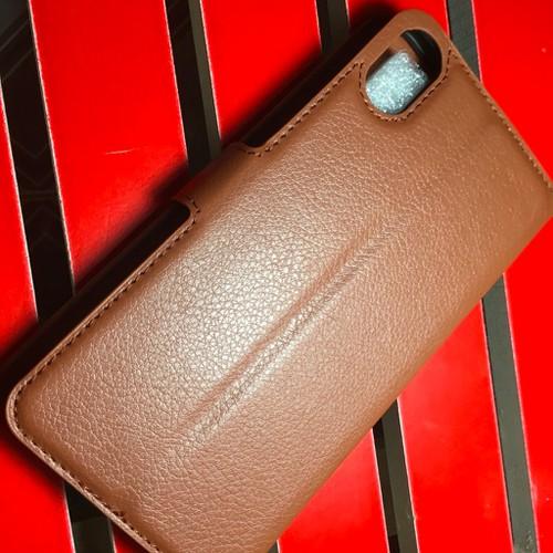 Desire 825 - Bao da PU có khe để thẻ cho điện thoại di động