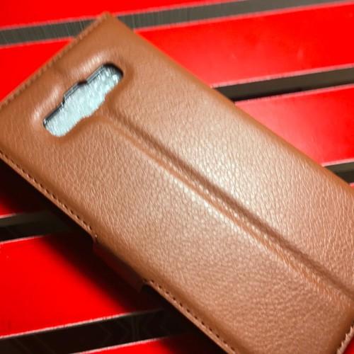 Samsun A7 2015 - Bao da PU có khe để thẻ cho điện thoại di động
