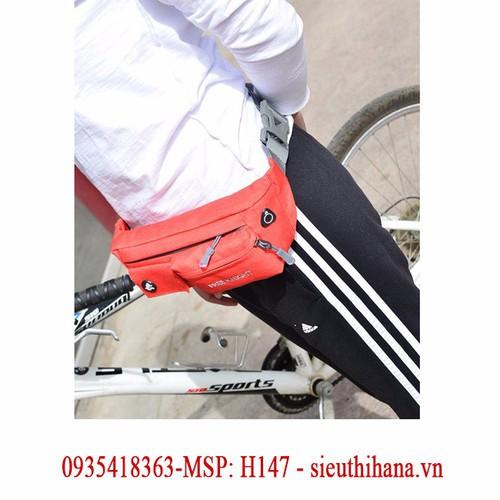 Túi đeo hông, đeo bụng 4 ngăn siêu nhẹ FREE KNIGHT H147