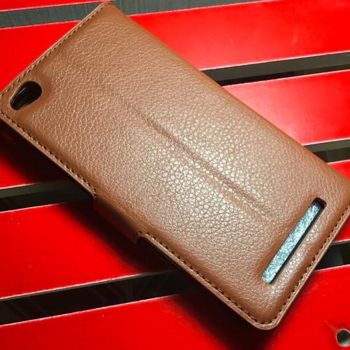 Xiaomi-Redmi 3 - Bao da PU có khe để thẻ cho điện thoại di động