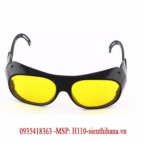 Kính bảo hộ lao động kiêm kính hàn xì bảo vệ mắt H110-1