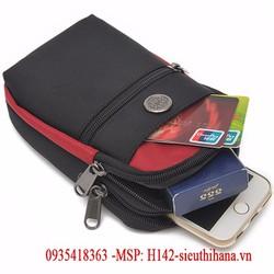 Túi đeo đai thắt lưng có móc khóa tặng dây đeo chéo đa năng MSP-H142