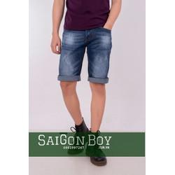 Quần short jeans xanh SJ15