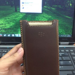 Bao da blackberry priv hộp rút tặng thẻ giảm giá