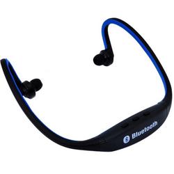 Tai nghe Bluetooth thể thao - Đen phối xanh dương
