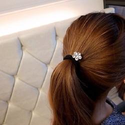 ctxkt72 cột tóc hoa lấp lánh nhỏ xinh