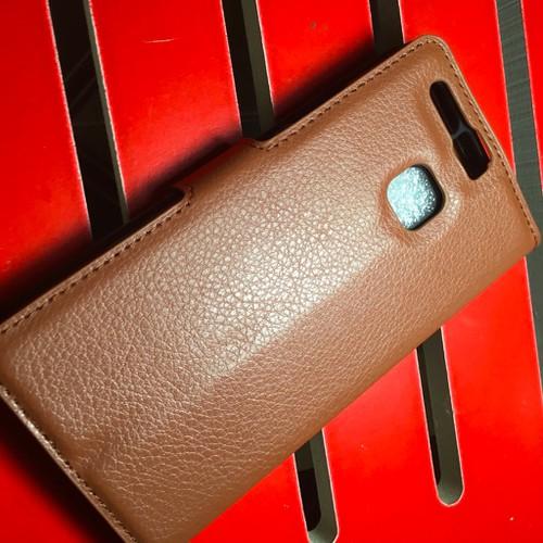 Huawei-P9 - Bao da PU có khe để thẻ cho điện thoại di động