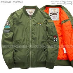 Hàng nhập khẩu, Áo khoác Pilot chần bông mặc ấm - Mã số: AK1619