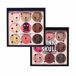 Phấn Mắt Etude House Pink Skull Color Eyes Phiên Bản Halloween