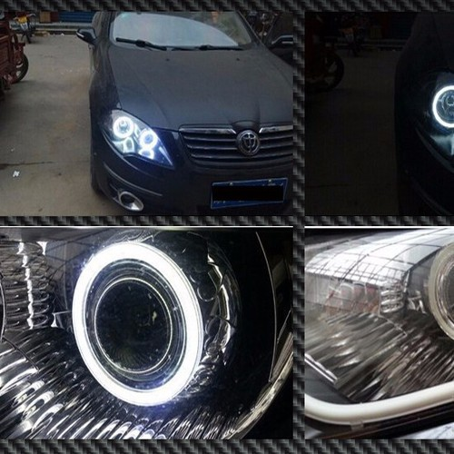 BMW LED angel eyes ring COB 12-24V 1 cái