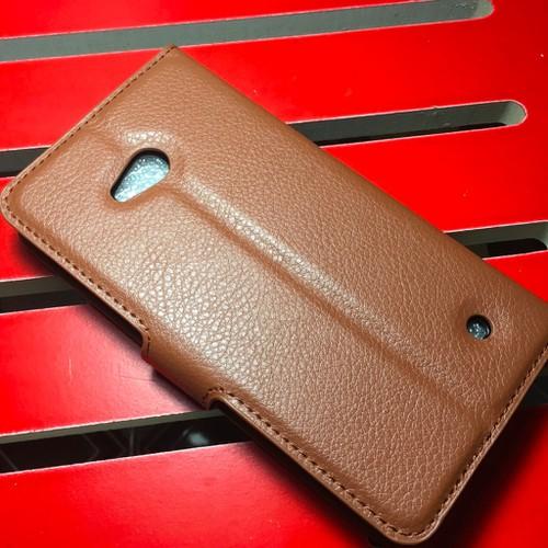Nokia-Lumia 640 - Bao da PU có khe để thẻ cho điện thoại di động