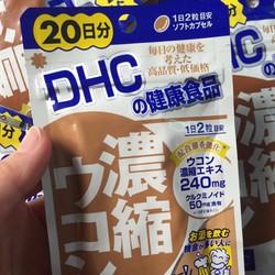 Viên uống giải rượu bia DHC