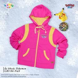 Áo khoác in hình Pikachu-hồng