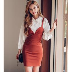 Hàng nhập_Đầm ôm cao cấp thời trang phong cách Hàn Quốc_D29