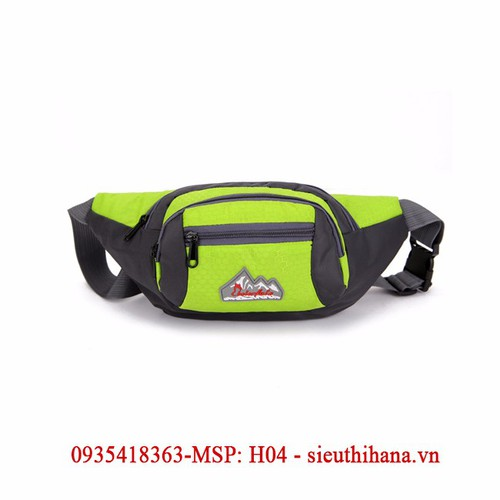 Túi đeo bụng, đeo hông thể thao HÀNG NHẬP MSP-H04