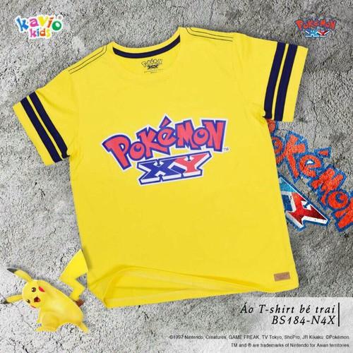 Áo thun bé trai Pokemon XY 44-50kg