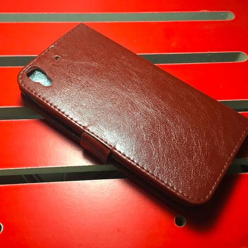 Huawei-Y6 Honor 4A - Bao da PU có khe để thẻ cho điện thoại di động