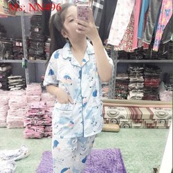 Đồ bộ nữ mặc nhà pyjama hình thú đáng yêu NN496