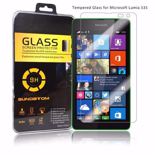 Nokia-Lumia 535 - Kính dán cường lực bảo vệ màn hình độ cứng 9H