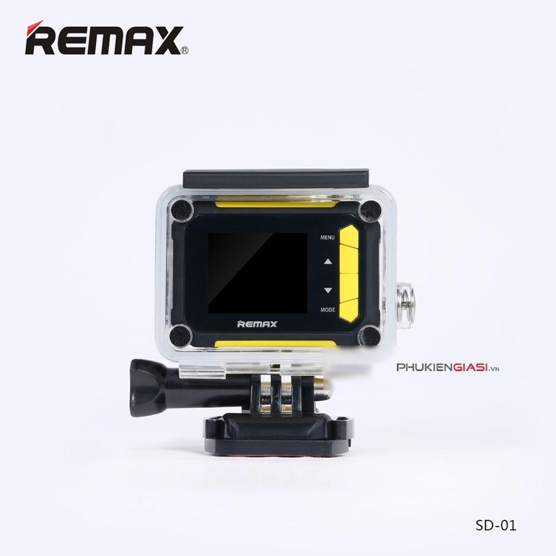 Kết quả hình ảnh cho Camera hành trinh Remax Sport SD01