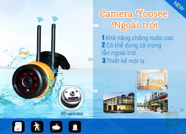 Camera Yoosee ngoài trời 2