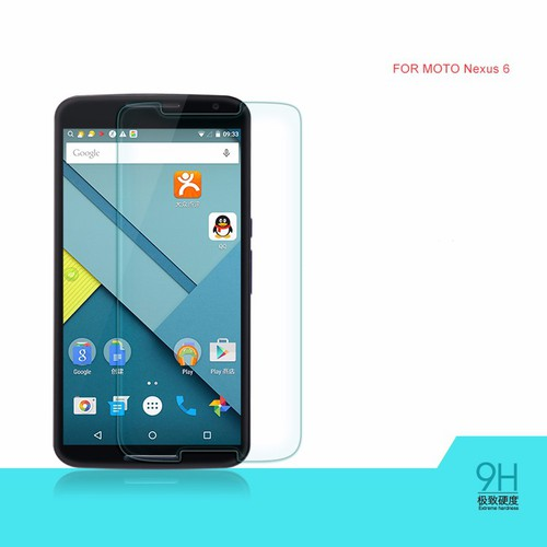 Motorola-Nexus 6 - Kính dán cường lực bảo vệ màn hình độ cứng 9H