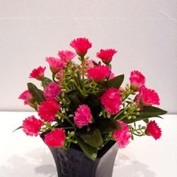 hoa phăng đẹp - hoa lụa trang trí