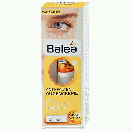 Kem dưỡng da chống nhăn vùng mắt Balea Q10 Đức
