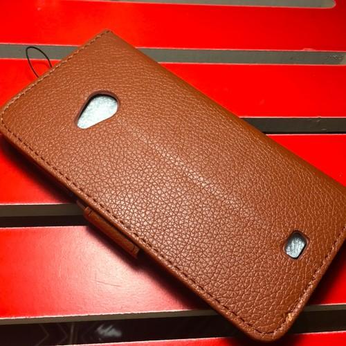 Nokia-Lumia 535 - Bao da PU có khe để thẻ cho điện thoại di động