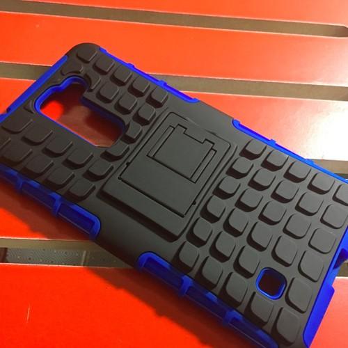 LG-Stylus 2 - Ốp lưng hybrid chống sốc có chân xếp cho điện thoại