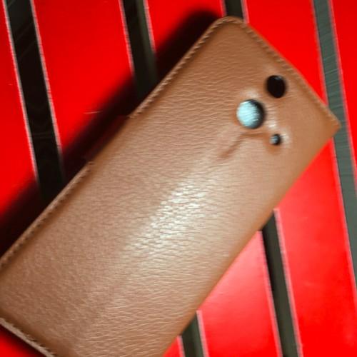 HTC-One M8 - Bao da PU có khe để thẻ cho điện thoại di động
