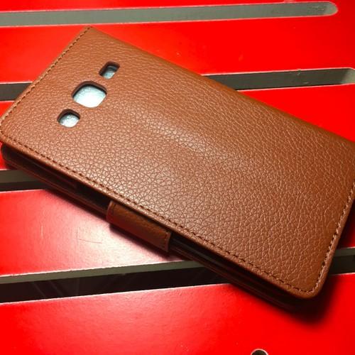 Samsung-Galaxy-J2 - Bao da PU có khe để thẻ cho điện thoại di động