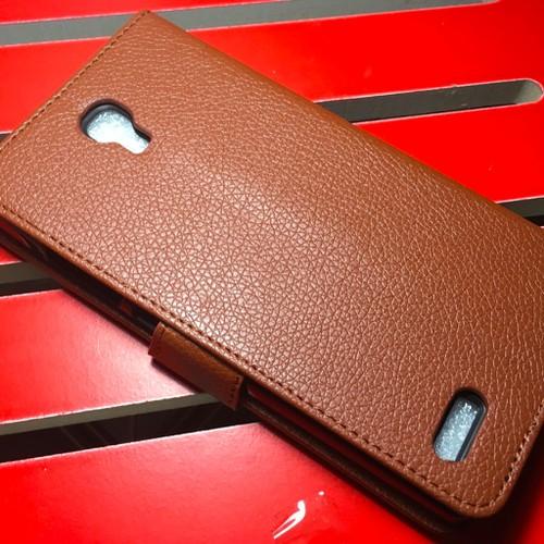 Xiaomi-Redmi Note - Bao da PU có khe để thẻ cho điện thoại di động