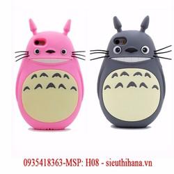 Ốp lưng điện thoại hình mèo totoro của iPhone 4 và 4s H08