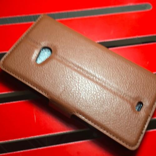 Nokia-Lumia 540 Dual - Bao da PU có khe để thẻ cho điện thoại di động