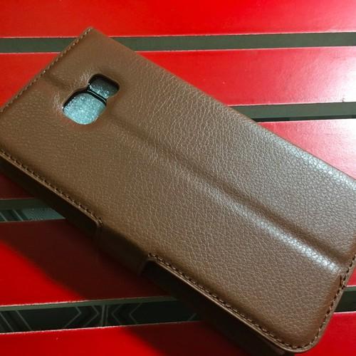 Samsung-S6 Edge Plus - Bao da PU có khe để thẻ cho điện thoại di động