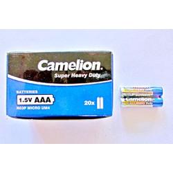 COMBO 40 VIÊN PIN 3A CAMELION 1.5V CHÍNH HÃNG
