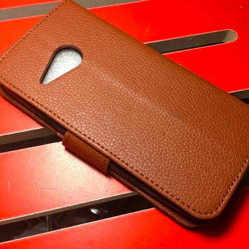 HTC-One M8 Mini - Bao da PU có khe để thẻ cho điện thoại di động