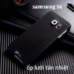Ốp lưng lưới Galaxy S6 tản nhiệt chính hãng Loopee