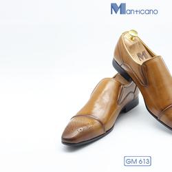 Giày da Ý cao cấp – GM613 + Tặng bộ quà 5 món