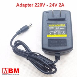 Adapter 24V 2A dùng cho máy bơm nước mini và thiết bị điện