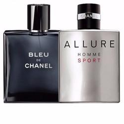 Combo 2 Chai nước hoa  Bleu và Allure homme 100ml