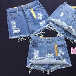 Quần váy jean dễ thương